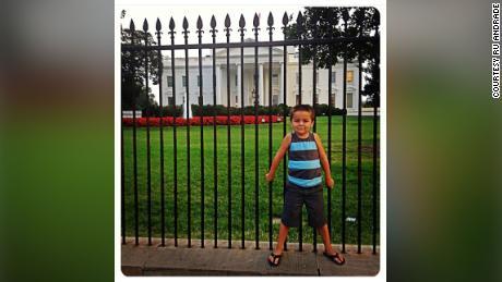 Jack Rico era in piedi davanti alla Casa Bianca quando aveva quattro anni.