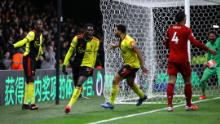 Watford ha sbalordito Liverpool per infliggere i Reds & # 39; prima sconfitta nella stagione della Premier League.