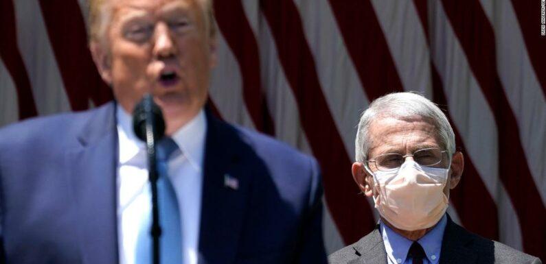 La riluttanza di Trump a indossare una maschera facciale invia un messaggio fatale (consulenza)