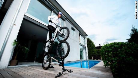 Per Wibmer, una bicicletta non è solo per la guida ...