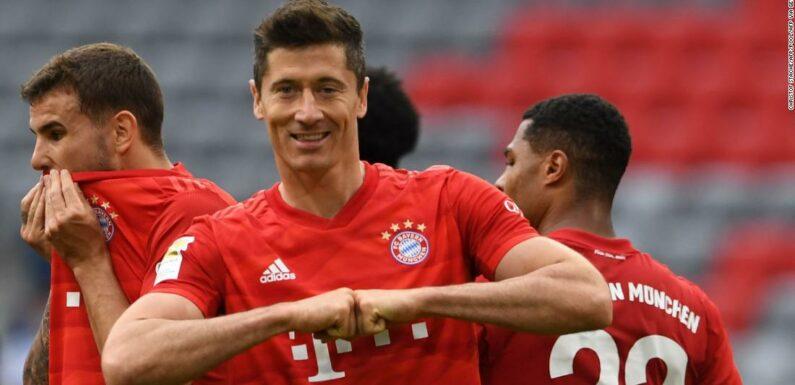 Robert Lewandowski raddoppia mentre il Bayern fa rotta su Fortuna per guadagnare 10 punti di vantaggio