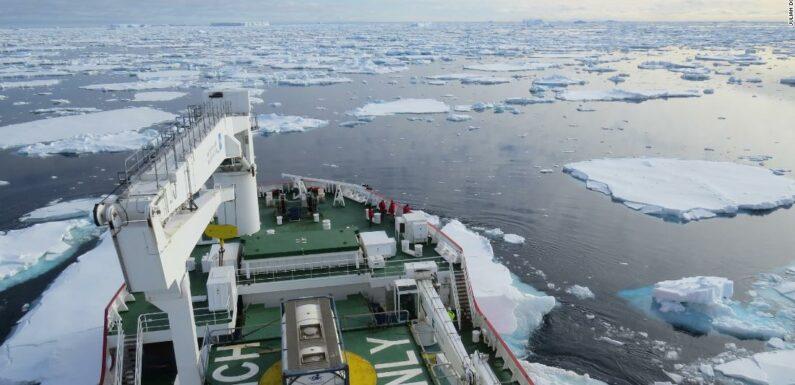 Calotte di ghiaccio antartiche in grado di sciogliersi molto più velocemente di quanto pensassimo