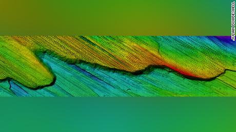 Usando veicoli subacquei autonomi, gli scienziati hanno studiato le creste del fondale marino.