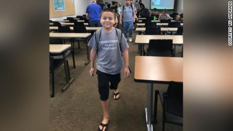 Jack Rico in una delle sue lezioni al Fullerton College.