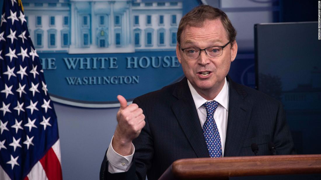Kevin Hassett afferma che lavorare alla Casa Bianca può essere rischioso durante la pandemia di coronavirus