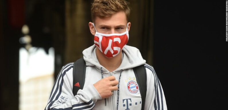 Joshua Kimmich afferma che il Bayern Monaco ha in programma di unirsi alla dimostrazione dell'inglese di George Floyd