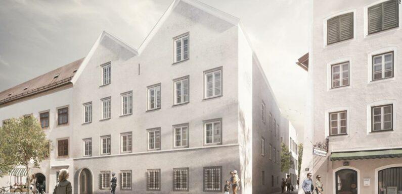 Gli architetti austriaci trasformano il luogo di nascita di Hitler in una stazione di polizia