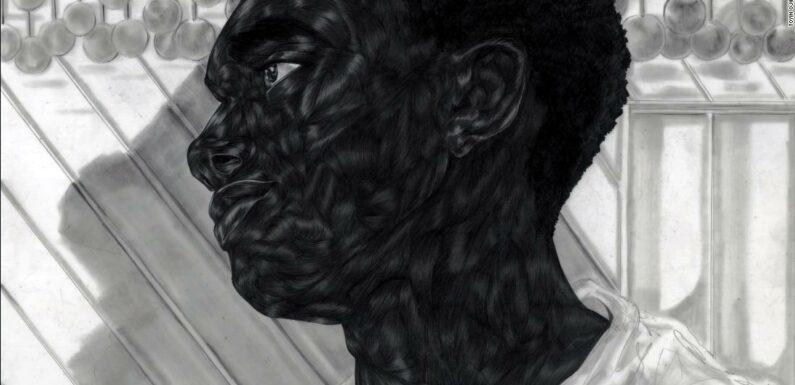 L'artista Toyin Ojih Odutola disegna ritratti complessi di vita nera