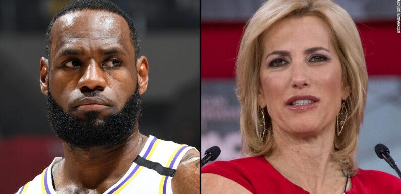 LeBron James chiama la presentatrice della Fox Laura Ingraham in difesa di Drew Brees