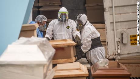 L'America Latina è ora l'epicentro dell'epidemia, & # 39; dice un funzionario sanitario