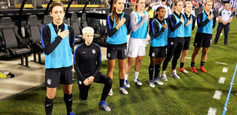 US Soccer ha abrogato la politica che impone ai giocatori di difendere l'inno nazionale