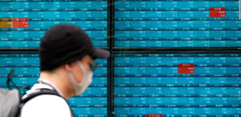 I mercati asiatici crollano dopo che le preoccupazioni per il virus statunitense hanno aumentato le vendite di Wall Street