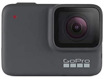 GoPro hero7 Argento 4 K Fotocamera d'azione impermeabile (fino a 10 m) con stabilizzazione video e vocale