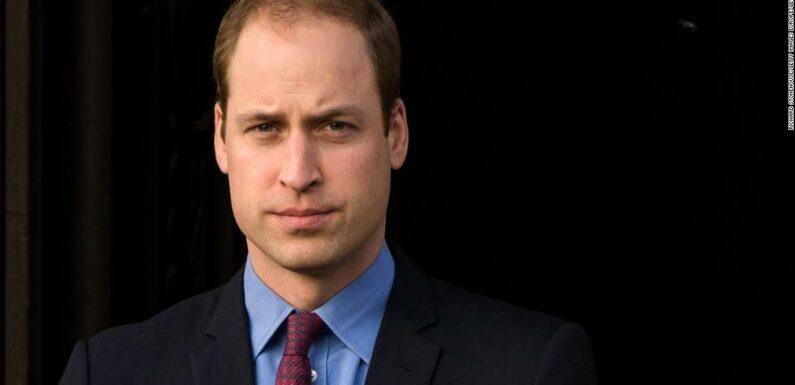 Il principe William si è offerto segretamente volontario per una hotline per la salute mentale