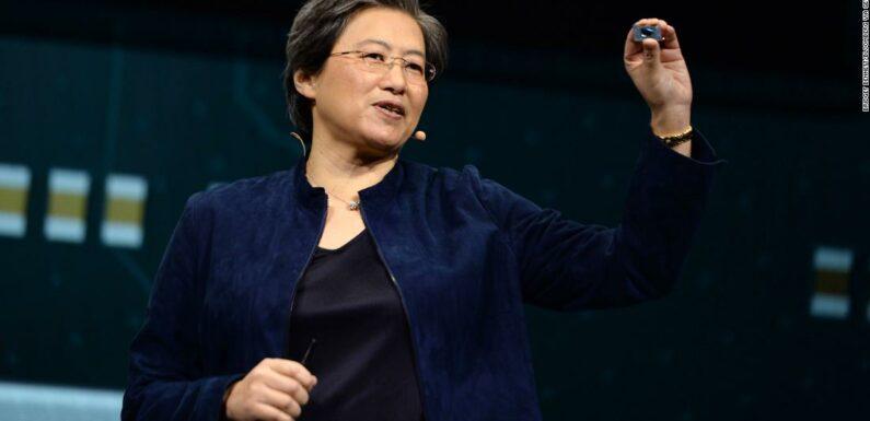 L'anno scorso, Lisa Su di AMD è stata l'amministratore delegato più pagato dell'S & P 500