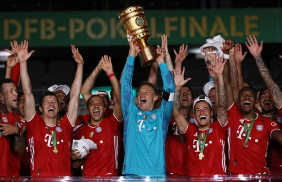 Bayern Munich remains on course for historic treble with German Cup win over Bayer Leverkusen
