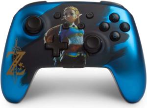 Controller Senza Fili Avanzato Per Nintendo Switch - Raso Chrome Zelda - Nintendo Switch