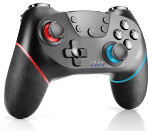 CHEREEKI Controller per Nintendo Switch, Controller Wireless con Doppio Turbo Vibrazione Supporta Funzione Gyro Axis