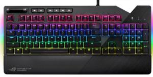 Asus ROG Strix Flare Tastiera Meccanica RGB Gaming con Switch Cherry MX BROWN [Layout Italiano]