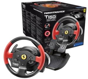 Thrustmaster T150 Ferrari Edizione (Volante incl. 2-Pedali, Force Feedback, 270° - 1080°, PS4 / PS3 / PC)