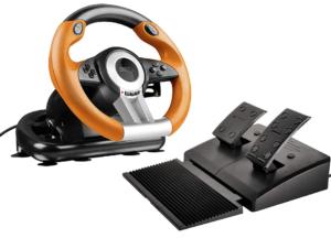 Speedlink Drift O.Z. Racing Wheel - for PS3, Black-Orange