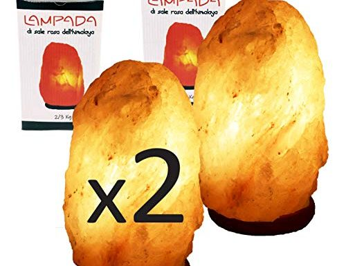 Migliori lampada di sale himalayano certificata testato e qualificato