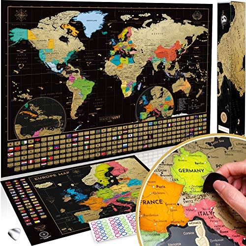 Cartine Xxl.30 Migliori Cartina Mondo Da Grattare Testato E Qualificato