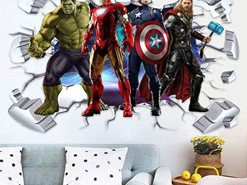 30 Migliori Adesivi Murali Avengers Testato e Qualificato